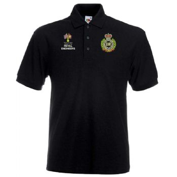 Veteran Badge/Proud to have Served Embroidered Polo Shirt